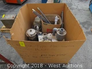 Box of Chemcut Housings, Spoils, and More