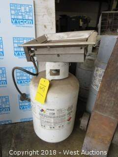 Detroit Radiant Propane Heater with Tank