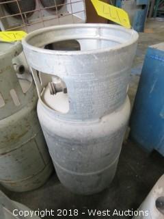 Aluminum Forklift Propane Tank