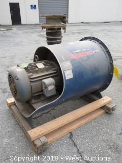 Spencer S24105B 15HP Commercial Centrifugal Blower