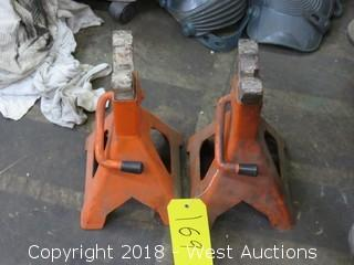 (2) 3-Ton Jack Stands