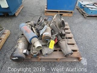 (10+) Assorted Motors, Reducers, and Blower Components
