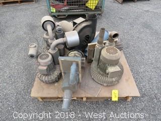 (6) Assorted Pumps/Blowers/Motors