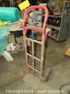 Pneumatic Tire Hand Truck/Cart