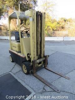 Hyster High Lift 3-Stage 3,800 lb. Gas Forklift