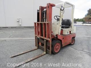 Datsun 4,000 lb. Propane Forklift