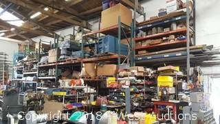 (7) Sections of 18' Pallet Rack and (5) Sections of 16' Pallet Rack (Racking Only)
