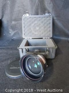 Century Precision Optics .8X Wide Angle Converter MKII C47046 with Pelican Case