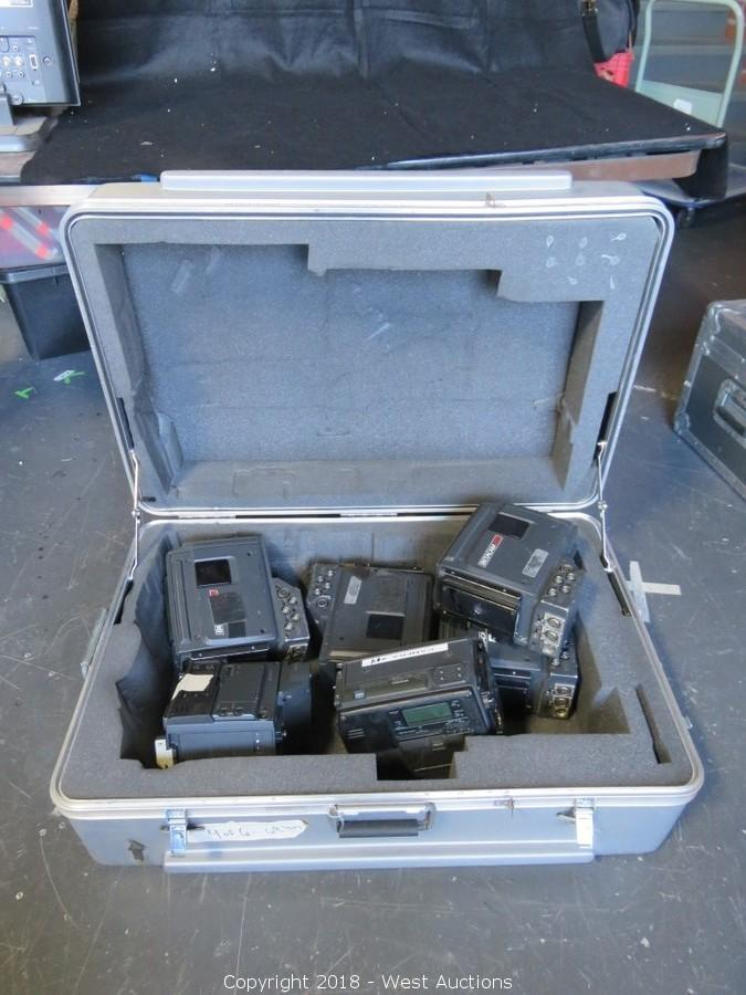 Online Auction of Audio, Lighting, Motion Picture Production Equipment and Tools for Sale in Los Angeles, CA