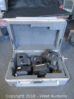 "32""x22"" Sony Portable Case with (5) Betacam SP Camera Body and Sony DSR Camera Body"