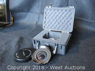 Century Digital Series Ultra Fisheye Adapter MKII with Pelican Case