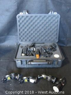 (3) Led Zeppelin Pepper Kit with Accessories in Pelican Case
