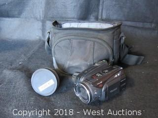 Canon Vixia HV30 A Digital Camcorder with Lens, Batteries and Carrying Case