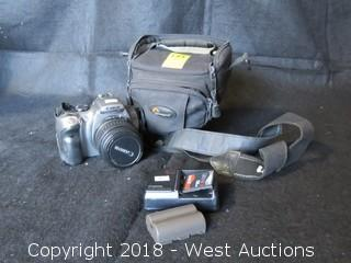 Canon Rebel DSLR DS6041 with Battery, Charger and Carrying Case