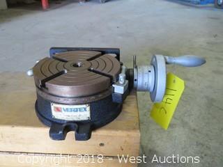 "Vertex Machinery Works 6"" Rotary Table"