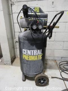 Central Pneumatic 2.5 HP 21 Gallon Portable Electric Air Compressor