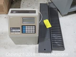 Microder MJR7000 Time Clock With Card Slips