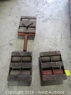 Three Piece Machinery Mover Roller Set