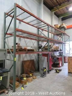 (3) Sections of 12' Pallet Rack (racking only)