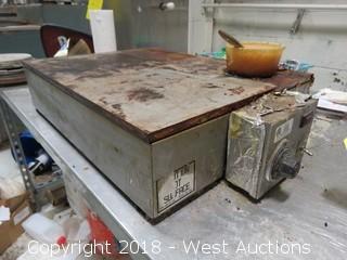 "ETL 24"" X 18"" 100-550 Degree Electric Plate"