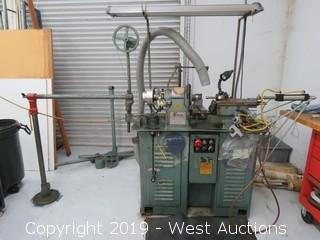1983 Enco Turret Lathe with Pneumatic Feed