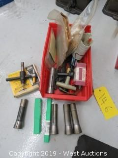 (6) Collets and Various Tools