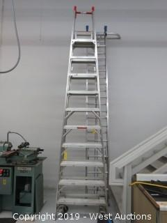 Werner Aluminum 10' Double Sided Ladder