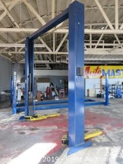Challenger Two-Post Car Lift 9,000 lb Capacity