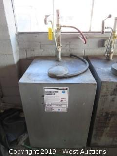 Service Pro 200 Gallon Tank with Pump