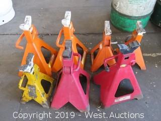 (7) 6 Ton Car Jacks