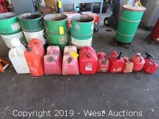 (8) Gasoline Tanks