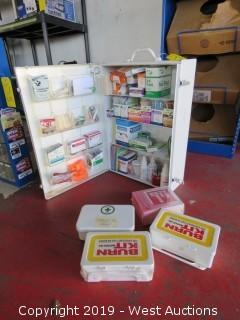 First Aid Cabinet, Kits, Mirrors