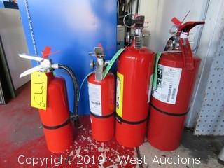(4) Fire Extinguishers