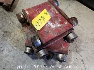 """(4) Machine Dollys 8"""" x 10"""""""