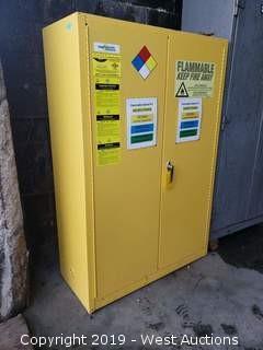 Eagle 45 Gallon Flammables Cabinet