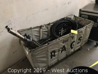 Cart with Various Hardware/Parts