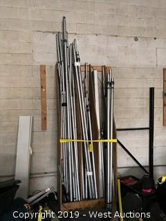 Lot of (50+) Drapery Poles