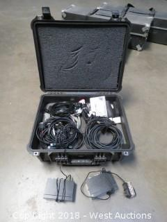 Projector Cable/Remote/Adapter Kit With Pelican Case