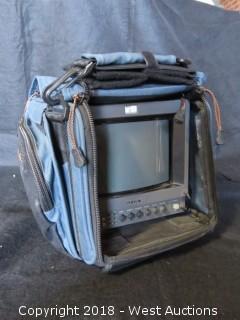 Sony HR Trinitron Monitor PVM-8045Q Inside Petrol Bag