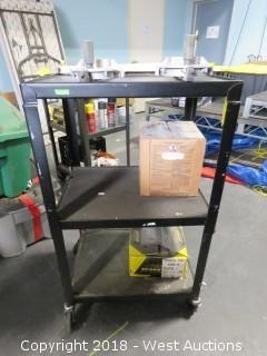 """42"""" Projector Cart with Tools"""
