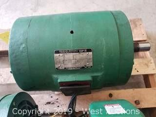 15 H.P. Premium Efficiency EQP III Induction Motor