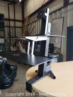 (4) Ergotron Sit-Stand Work Station