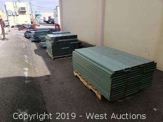 (5) Pallets Of Racking Components