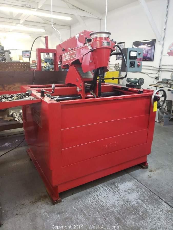 Online Auction of Automotive Machine Shop Equipment for Sale in Penngrove, CA