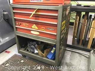 Craftsman Tool Organizer with Contents