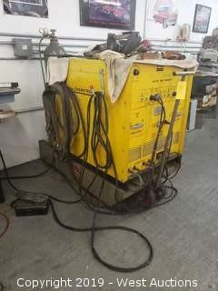 Chemetron AC-DC Arc Welder on Cart