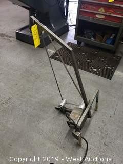 Custom belt sanding machine