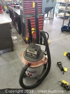 Ridgid 6.25 Hp Wet dry vacuum