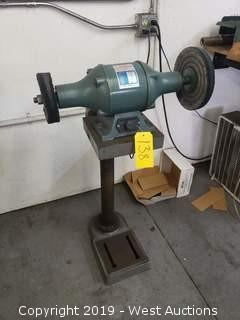 Enco 160-0201 Bench Grinder with Stand