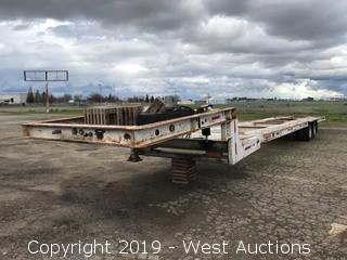 2004 52' 2-Axle Carrier Trailer